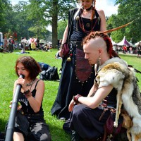 Castle Fest - pagan people :)