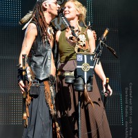 "Steve ""Sic"" Evans - Van der Harten (Omnia) and Fiona Rüggeberg (Faun)."