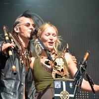 "Enjoy Castlefest concert, Steve ""Sic"" Evans - Van der Harten (Omnia) and Fiona Rüggeberg (Faun)."