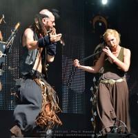Omnia, Steve Sic Evans and Fiona Rüggeberg (Faun).