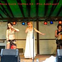 Seadem concert on Leipzig WGT festival