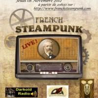 French Steampunk Live !! - Diffusion radio Jeudi 08 Novembre 2012