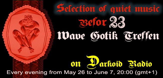 Quiet music selection before Wave-Gotik-Treffen 2014
