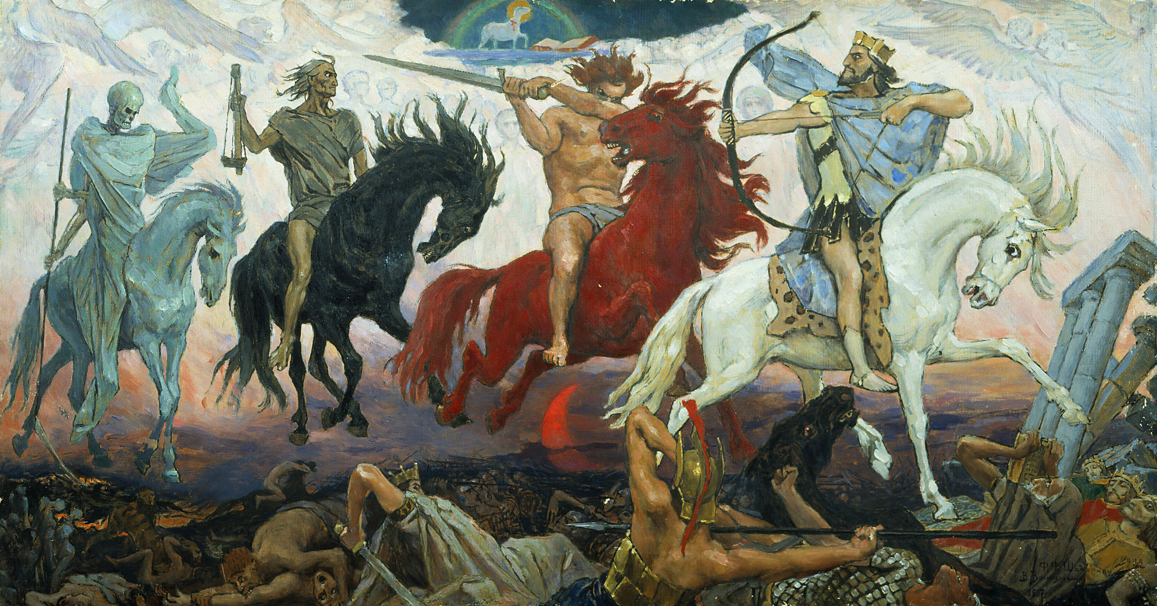 Les-Quatre-cavaliers-de-l-Apocalypse_1887_par_Viktor-Vasnetsov