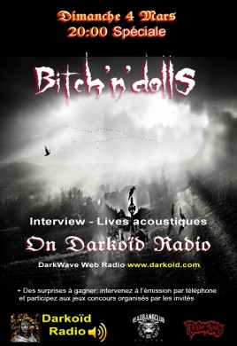 Spécial Bitch'N'Dolls, on Darkoïd radio