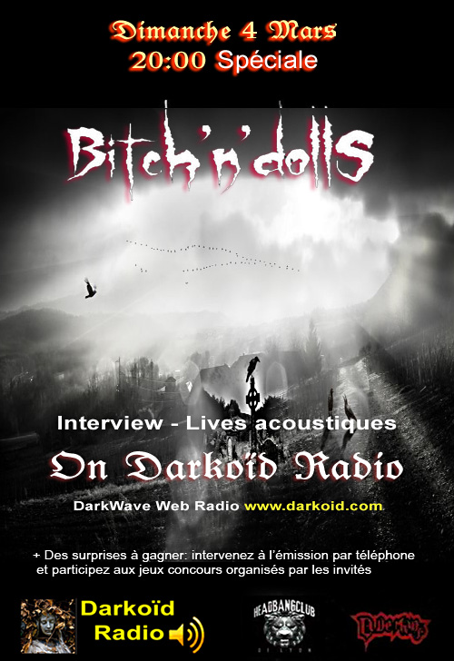 Spécial Bitch'N'Dolls, on Darkoïd radio