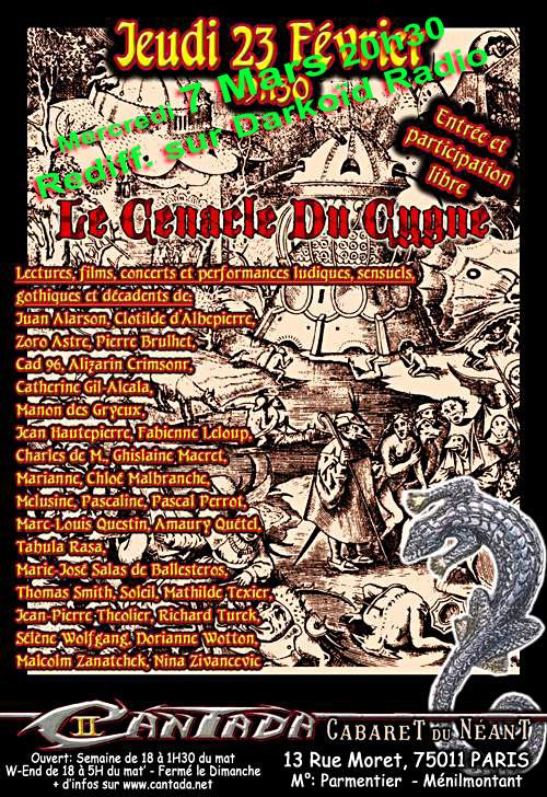 Le Cenacle Du Cygne - Cantada II