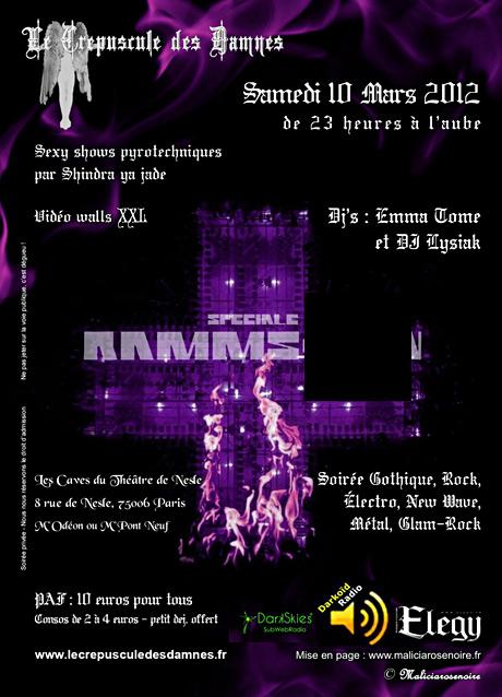 Crépudscule des Damnés Spécial Rammstein